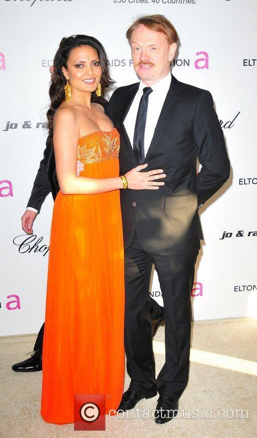 Jared Haarris and Allegra Riggio 19th Annual Elton...
