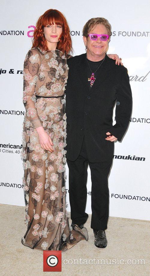 Florence Welch, Elton John and Academy Awards 2