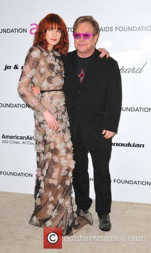 Florence Welch, Elton John and Academy Awards 1