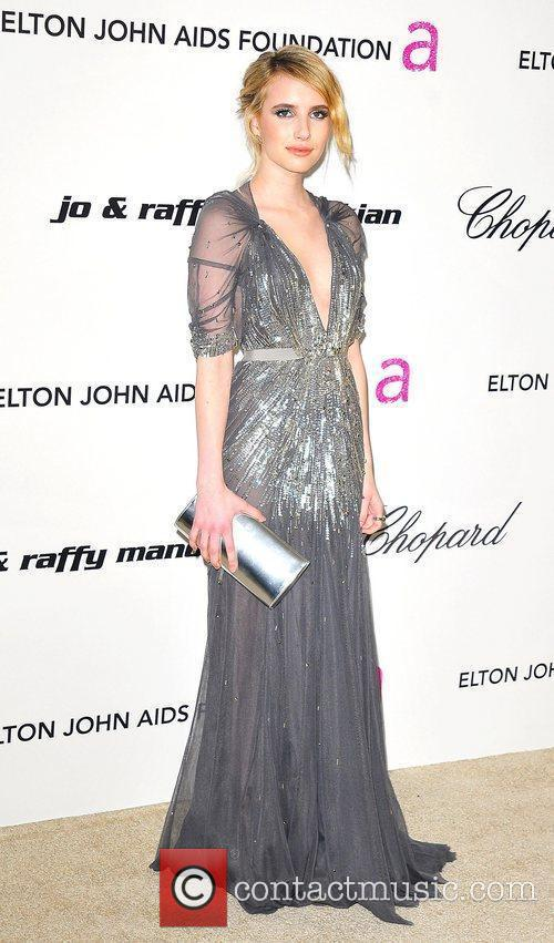 Emma Roberts, Elton John and Academy Awards 2