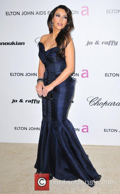 Kim Kardashian, Elton John and Academy Awards 3