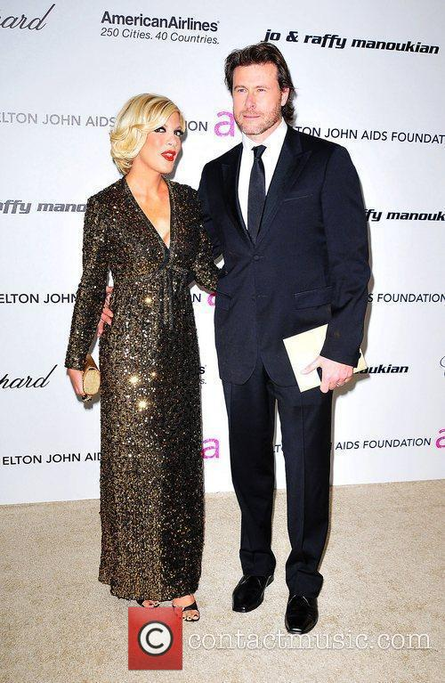 Tori Spelling, Dean Mcdermott, Elton John and Academy Awards 2