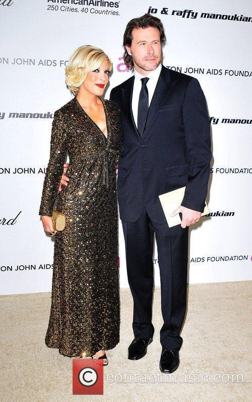 Tori Spelling, Dean Mcdermott, Elton John and Academy Awards 1