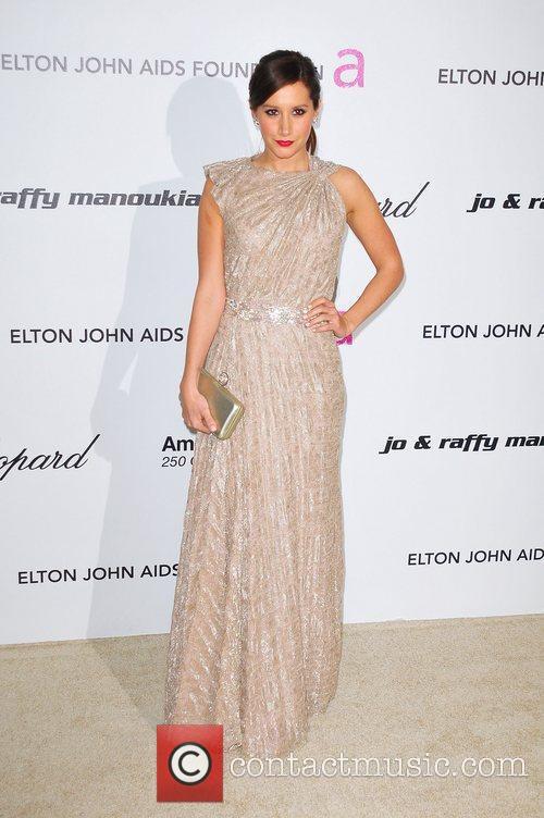 Ashley Tisdale and Elton John 2