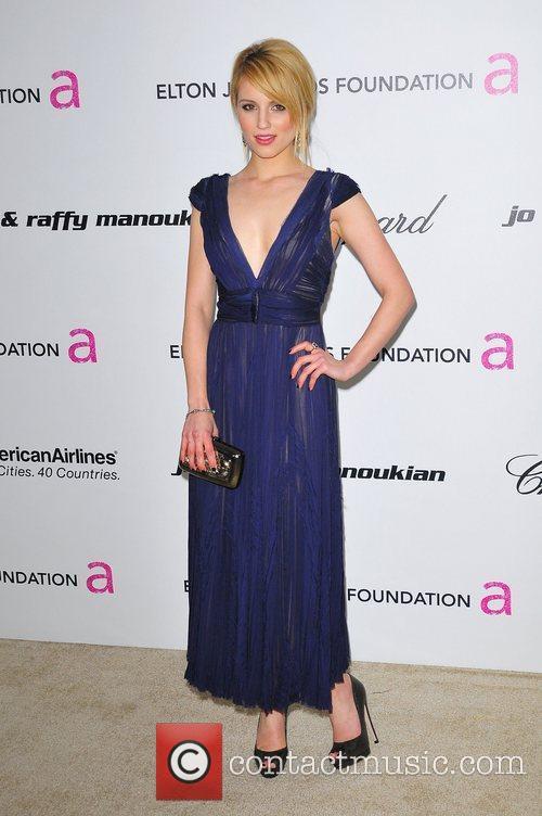 Dianna Agron 19th Annual Elton John AIDS Foundation...
