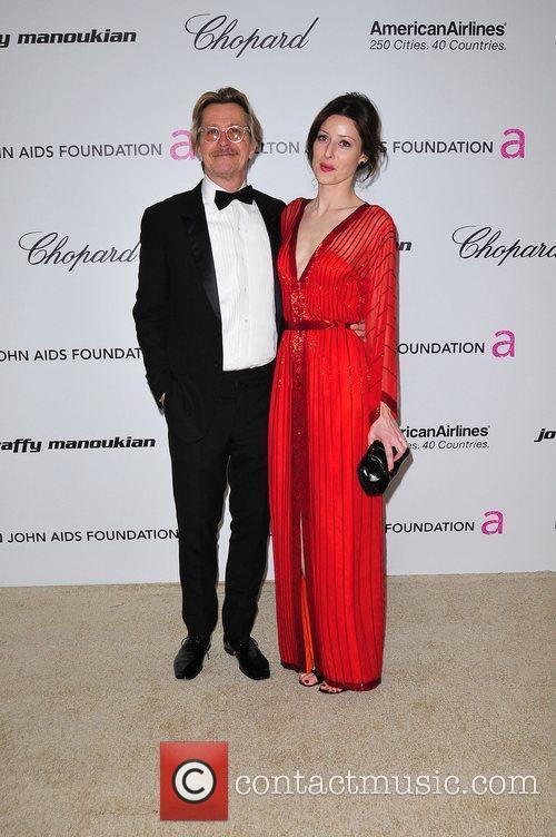 Gary Oldman 19th Annual Elton John AIDS Foundation...
