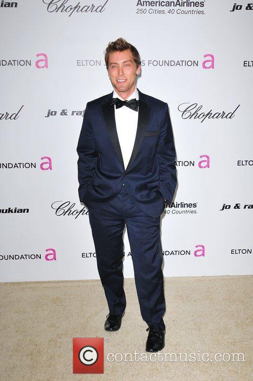 Lance Bass 19th Annual Elton John AIDS Foundation...