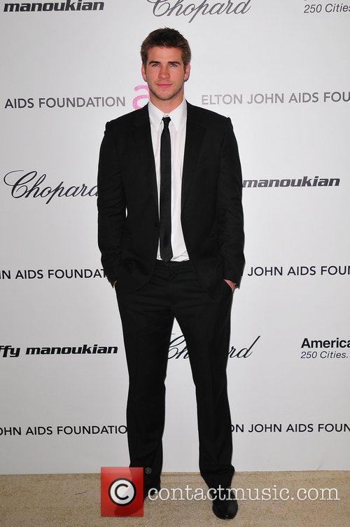 Liam Hemsworth 19th Annual Elton John AIDS Foundation...