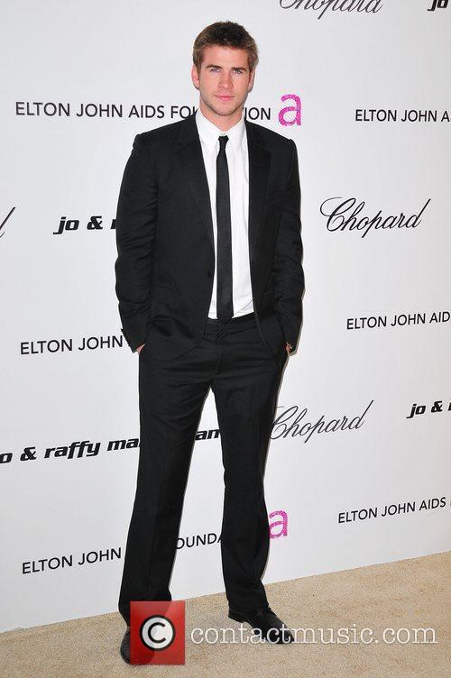 Liam Hemsworth and Elton John 1