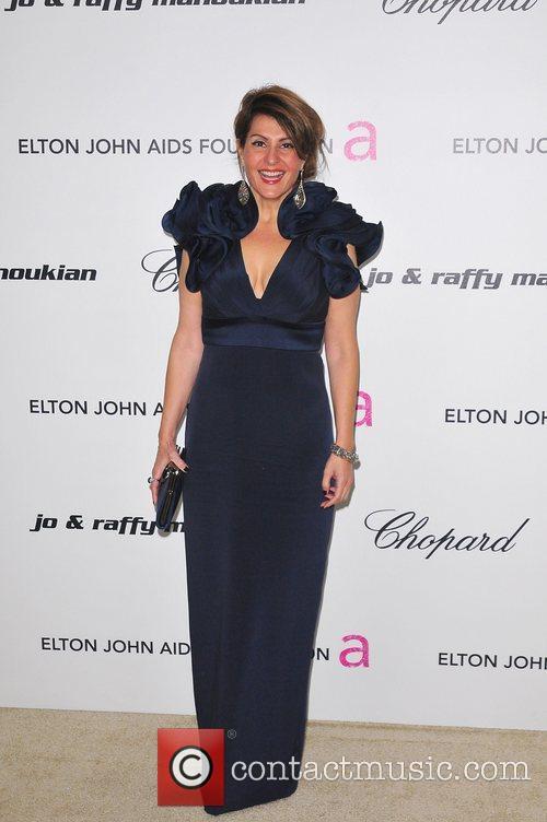 Nia Vardalos 19th Annual Elton John AIDS Foundation...
