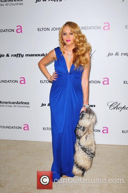 Paulina Rubio 19th Annual Elton John AIDS Foundation...