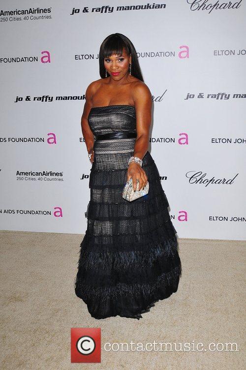 Serena Williams and Elton John 2