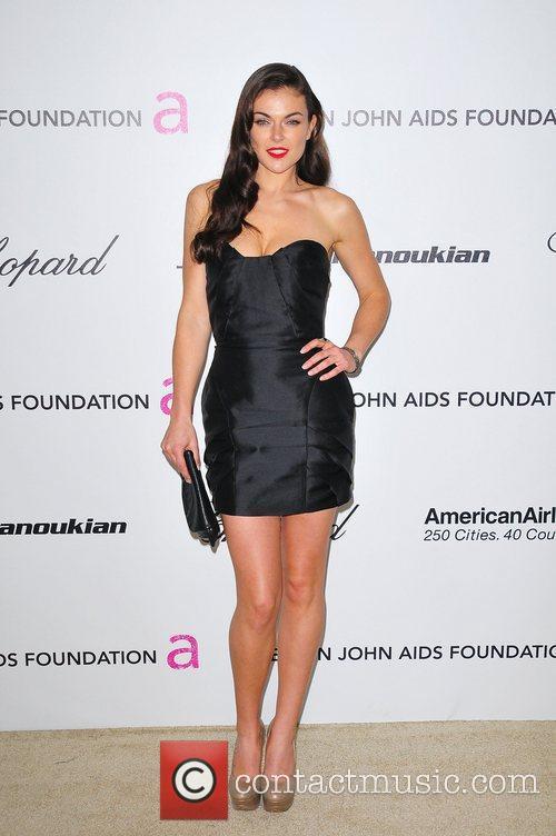 Serinda Swan 19th Annual Elton John AIDS Foundation...