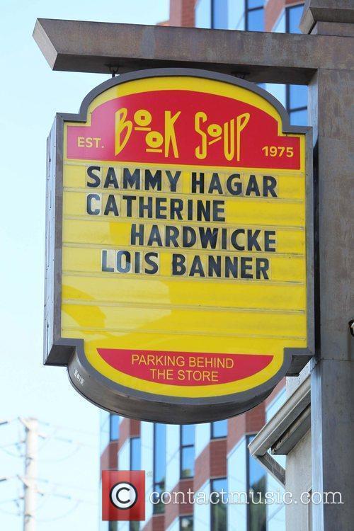 Book Soup bookstore on Sunset Boulevard