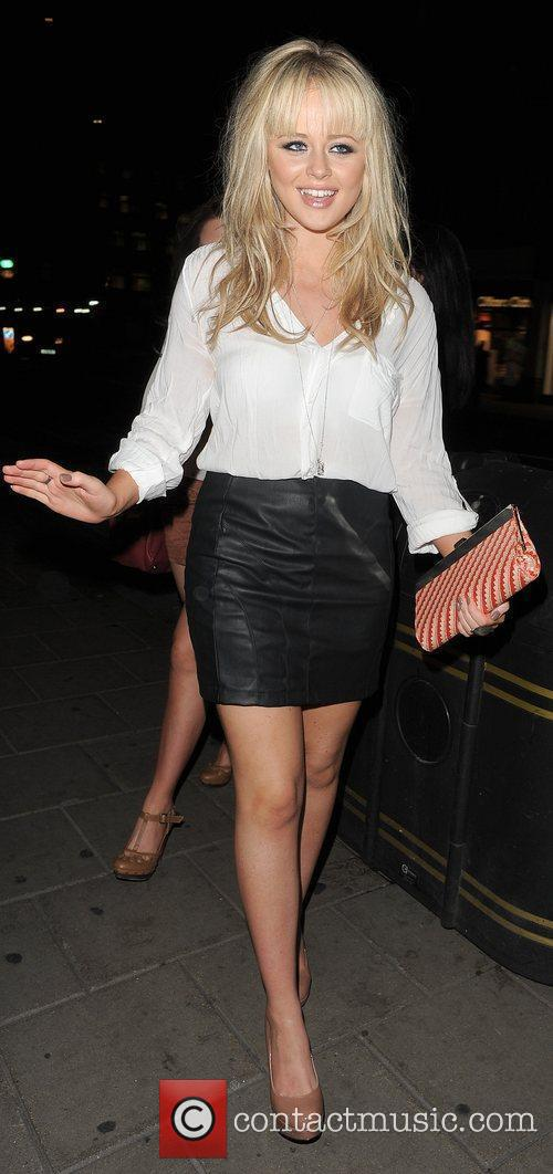 Emily Atack and Sir Paul McCartney 26