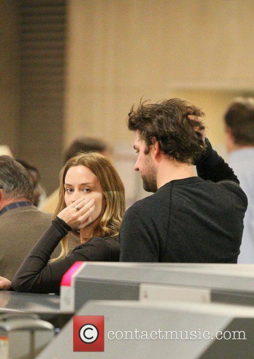 Emily Blunt and John Krasinski 7