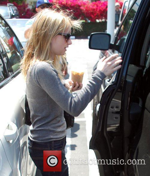 Emma Roberts leaves Fred Segal in West Hollywood...