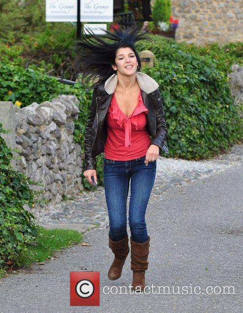Natalie Anderson  Photocall for the Emmerdale to...