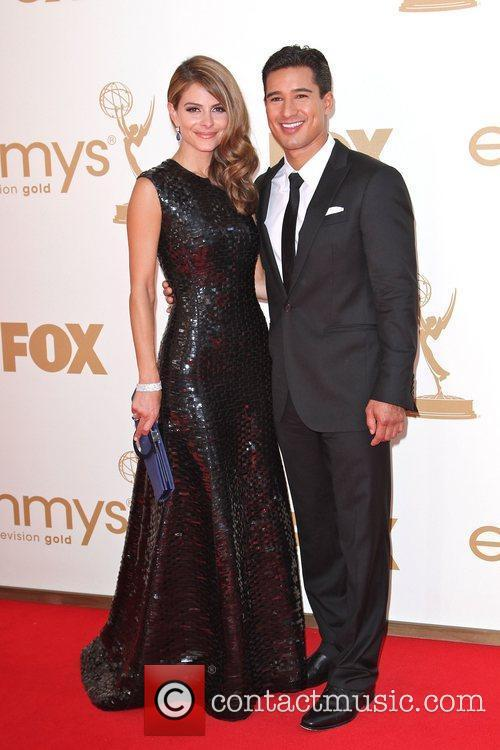Maria Menounos, Mario Lopez and Emmy Awards 7