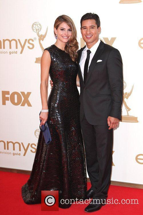 Maria Menounos, Mario Lopez and Emmy Awards 6