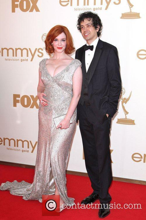 Christina Hendricks, Geoffrey Arend, Emmy Awards and Primetime Emmy Awards