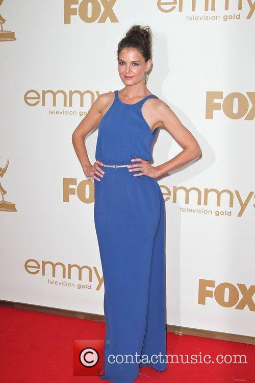 Katie Holmes at the 63rd Primetime Emmy Awards,...