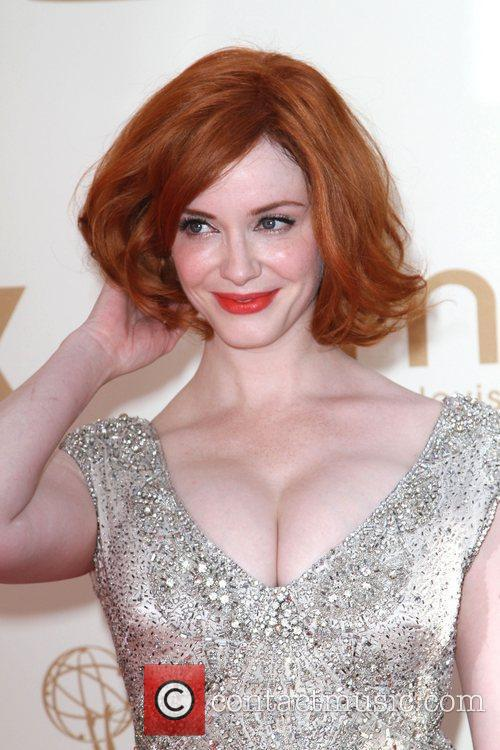 Christina Hendricks and Emmy Awards 9