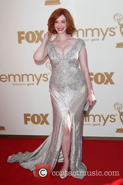 Christina Hendricks and Emmy Awards 10