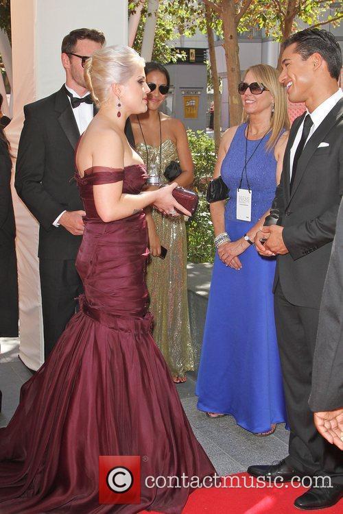 Kelly Osbourne, Mario Lopez and Emmy Awards 2