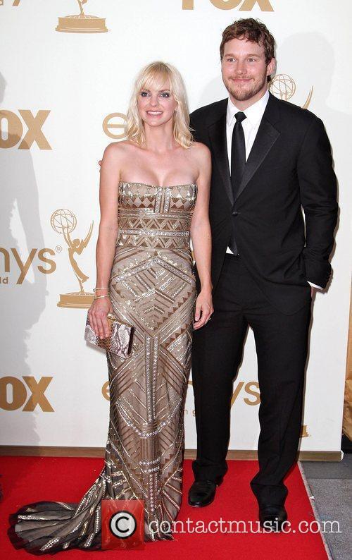 Anna Faris, Chris Pratt and Emmy Awards 3