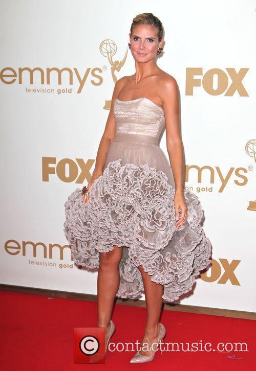 Heidi Klum and Emmy Awards 5