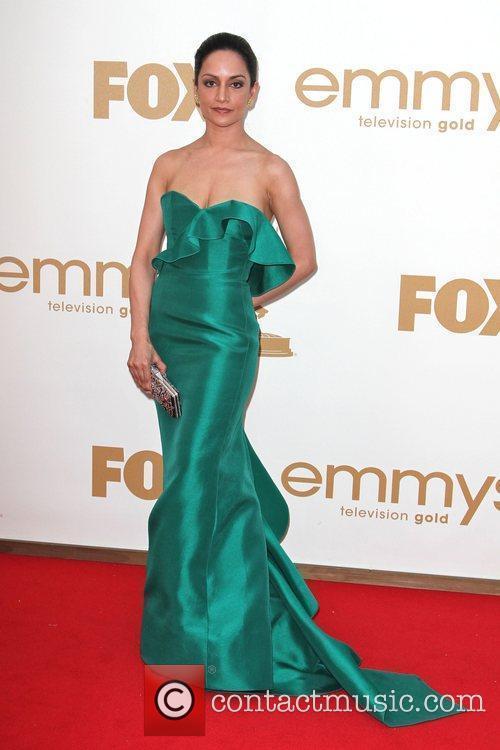 Archie Panjabi  The 63rd Primetime Emmy Awards...