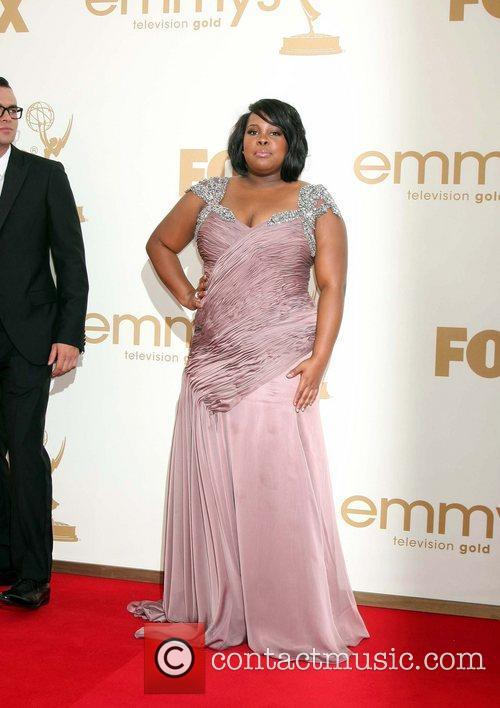 Amber Riley and Emmy Awards 2