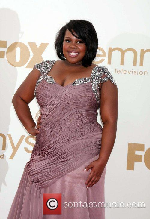Amber Riley and Emmy Awards 3