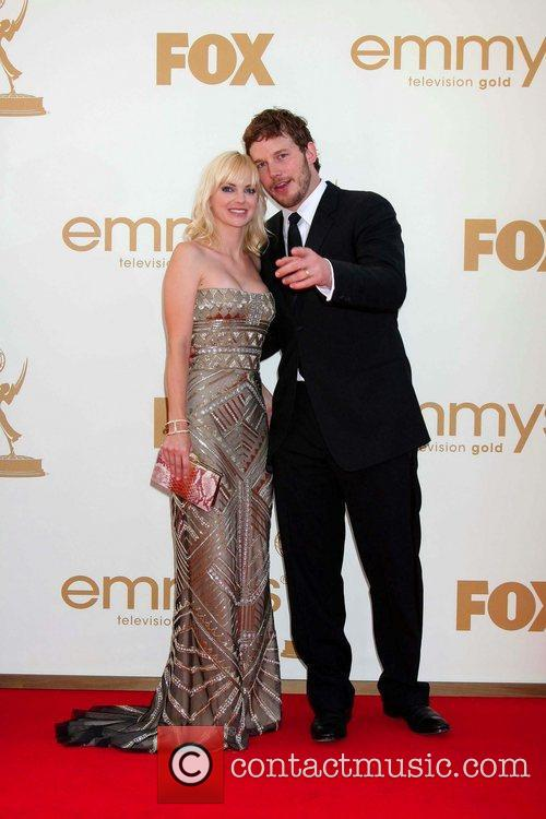 Anna Faris and Emmy Awards 1