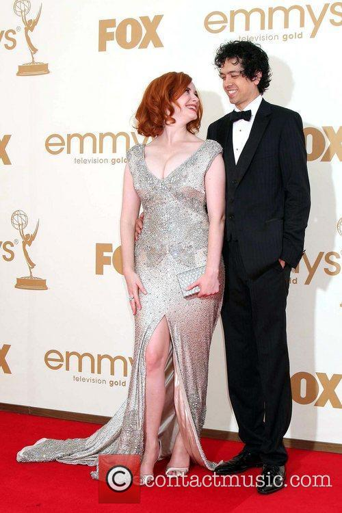 Christina Hendricks and Emmy Awards 11