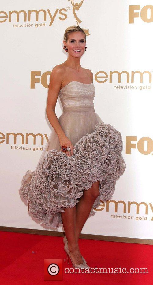 Heidi Klum and Emmy Awards 1