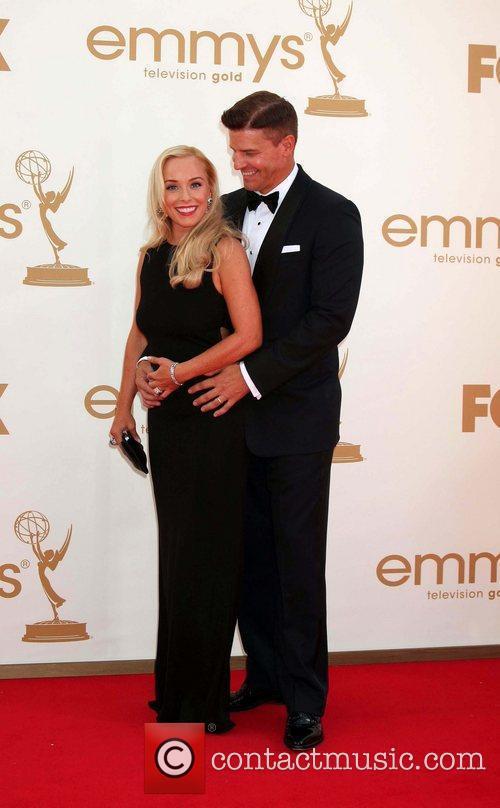 Jaime Bergman, David Boreanaz and Emmy Awards 2
