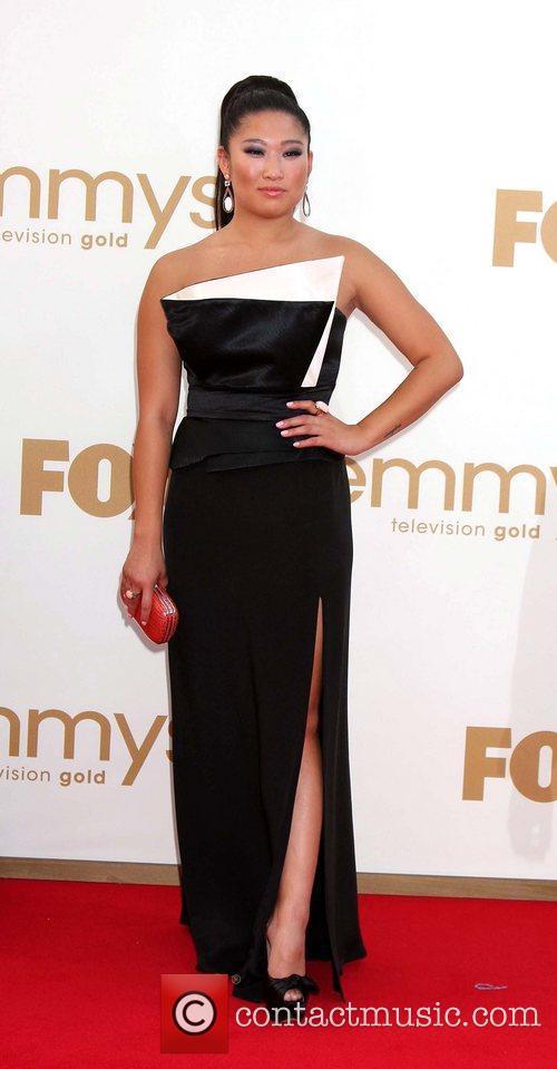 Jenna Ushkowitz  The 63rd Primetime Emmy Awards...
