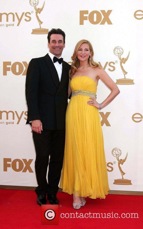 Jon Hamm, Jennifer Westfeldt and Emmy Awards 8