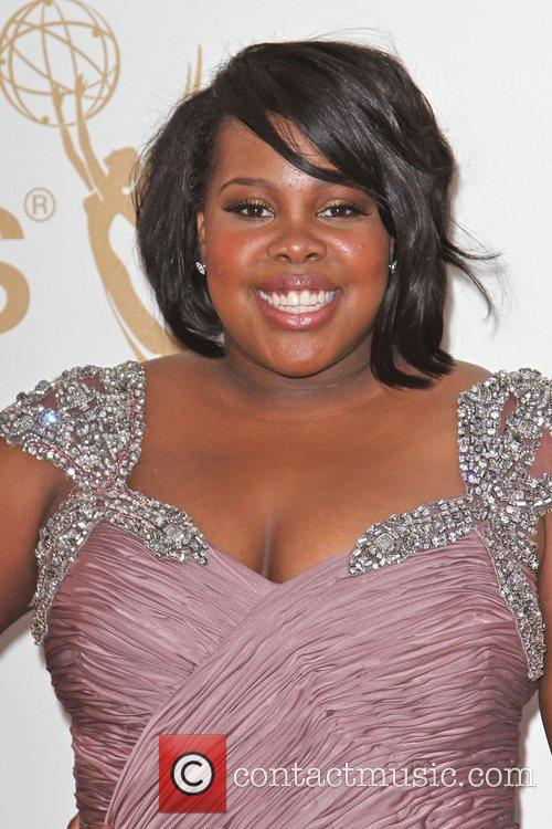 Amber Riley and Emmy Awards 1