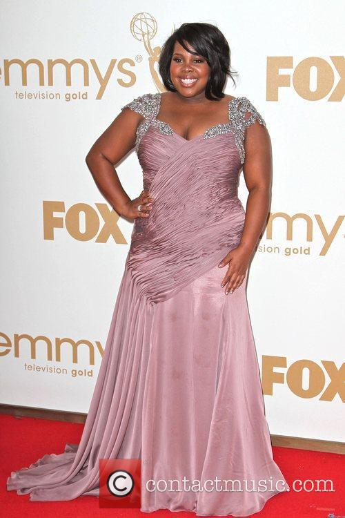Amber Riley and Emmy Awards 5