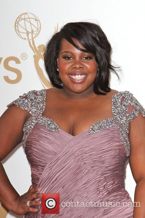 Amber Riley and Emmy Awards 4