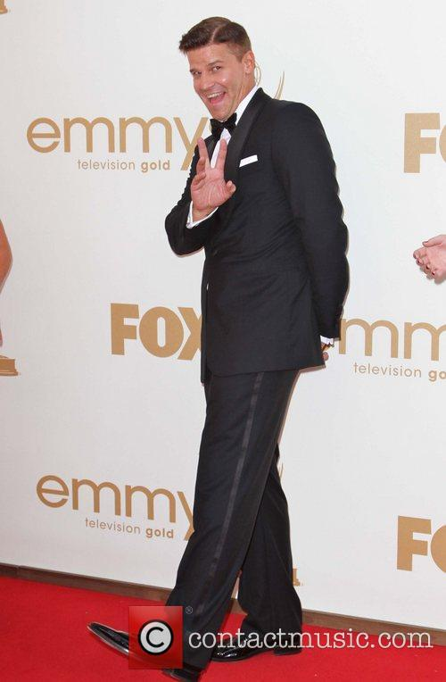 David Boreanaz The 63rd Primetime Emmy Awards held...