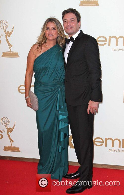 Nancy Juvonen, Jimmy Fallon and Emmy Awards 2