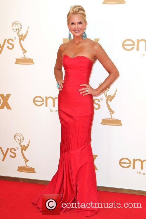 Nancy O'Dell The 63rd Primetime Emmy Awards held...
