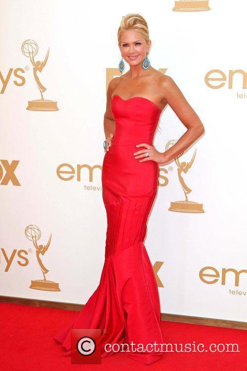 Nancy O'Dell Wearing a Lorena Sarbu dress.The 63rd...