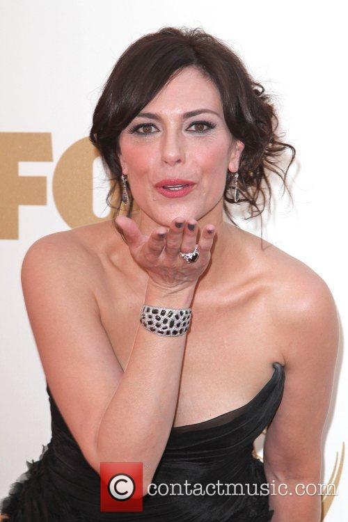 Michelle Forbes and Emmy Awards 7