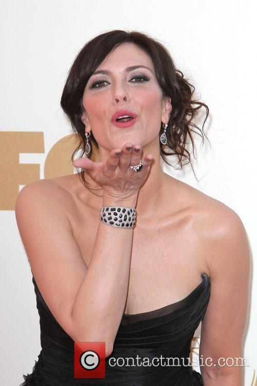 Michelle Forbes and Emmy Awards 11