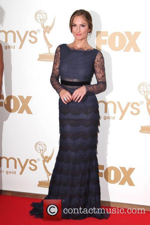 Minka Kelly and Emmy Awards 1